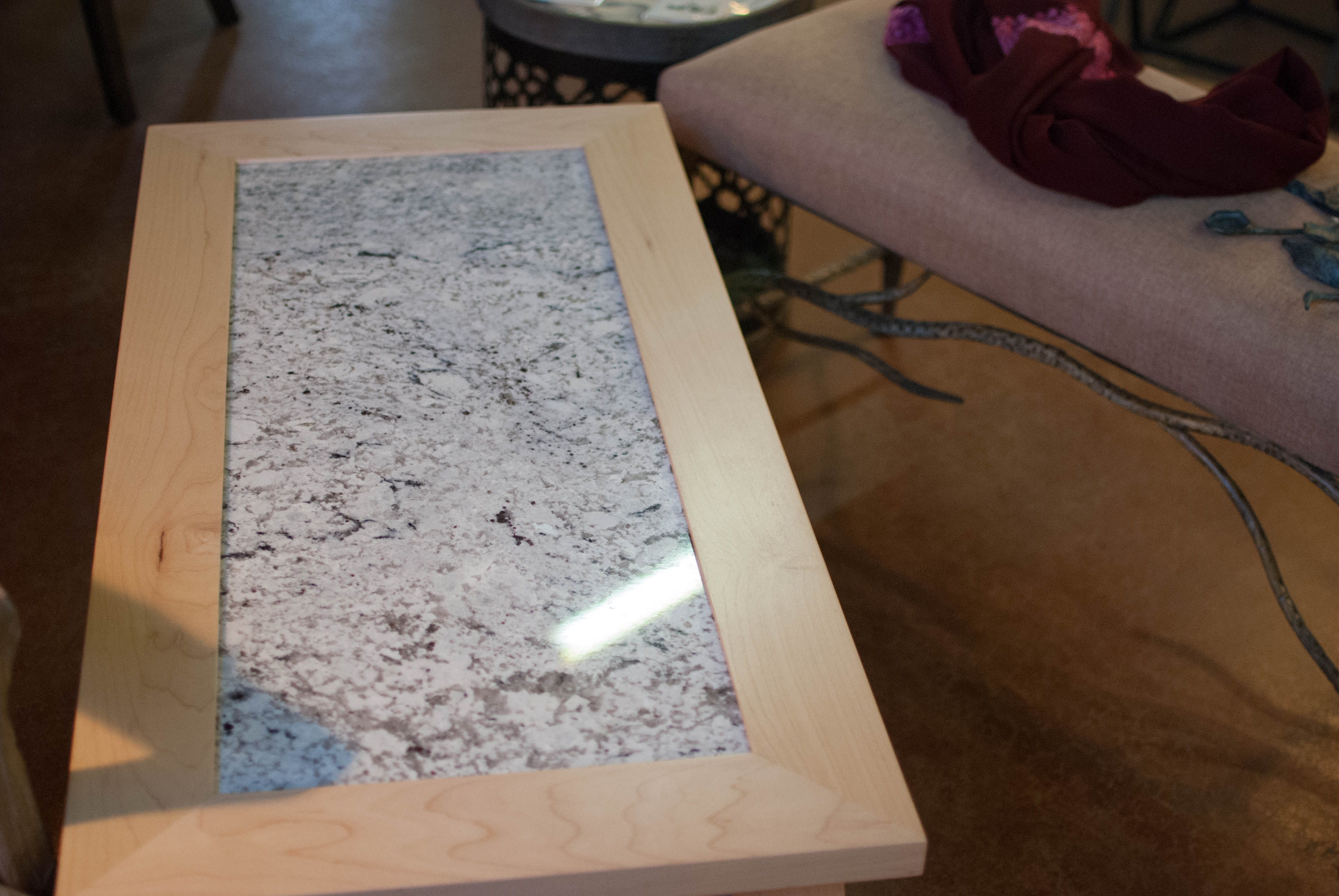coffee table built by recreations's richard jacober